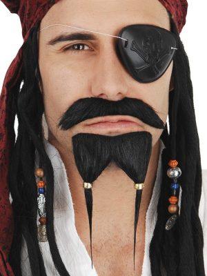 Pirate Mo & Goatee Black NZ5315
