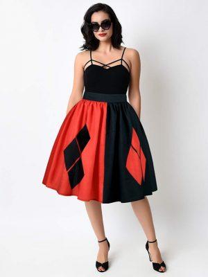 N15075 Harley Quinn Skirt
