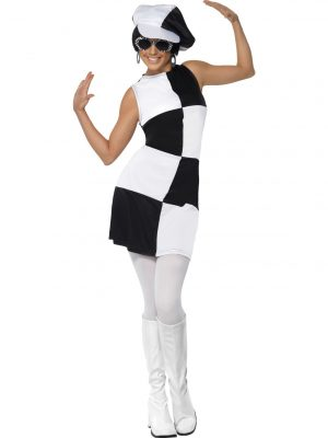 1960s Party Girl Costume Smiffys 21142