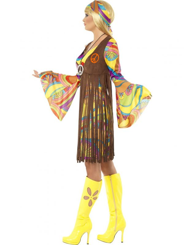 1960S Groovy Lady Costume #35531 - Side Image