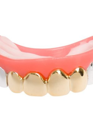 Gold and Silver Fake Teeth Dr.Toms-N8596