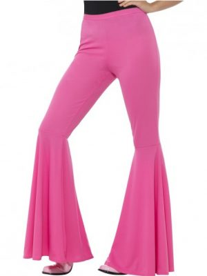 Flared Trouser, Pink, Ladies #21464