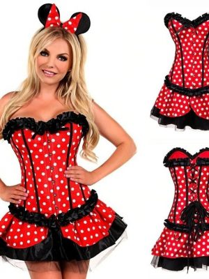 Corset and Skirt Mouse Costume Set #N1029