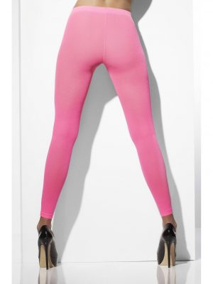 Pink Neon Footless Tights