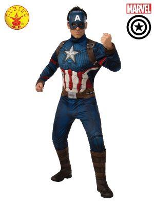Captain America Deluxe Mens Costume 700734