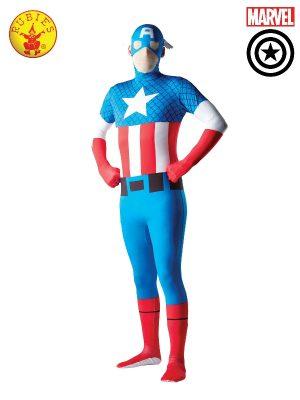 Captain America 2ND Skin Mens Costume 880950