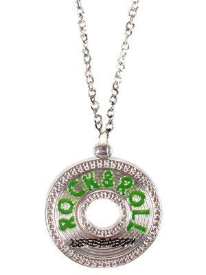 Necklace Rock & Roll Pendant NL1050