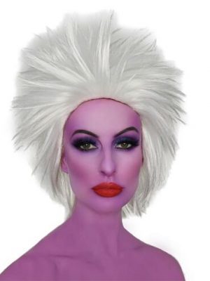 Sea Witch White Costume Wig (Ursula Style) - by Allaura 9344